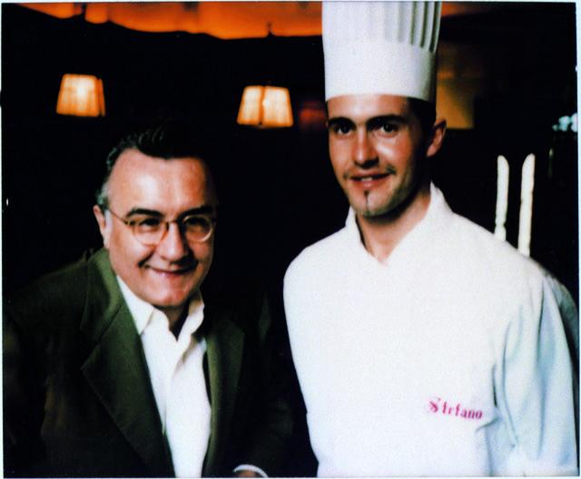 Alain Ducasse e Stefano Baiocco